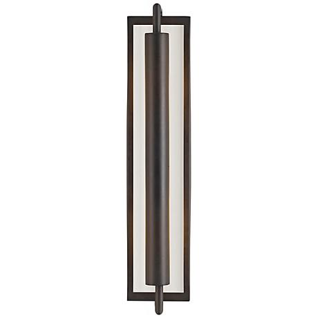 """Feiss Mila Collection Bronze 24 3/4"""" High Wall Sconce"""