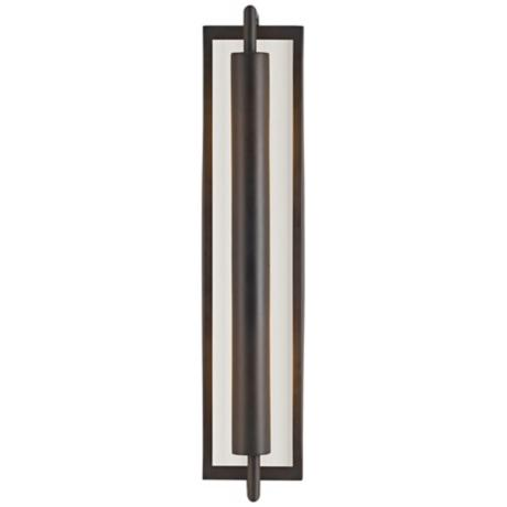 Feiss Mila Collection Bronze 24 3 4 Quot High Wall Sconce