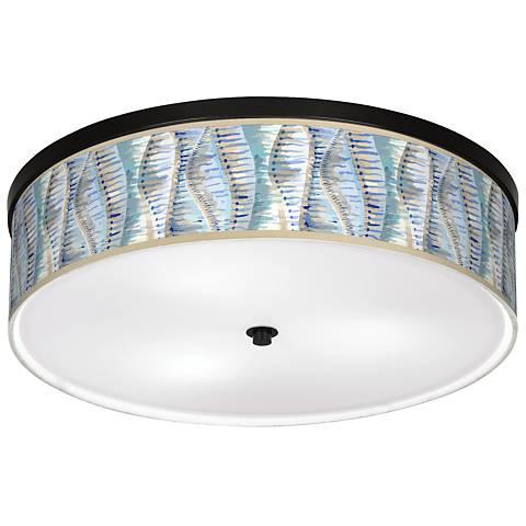 """Siren Giclee 20 1/4"""" Wide Ceiling Light"""