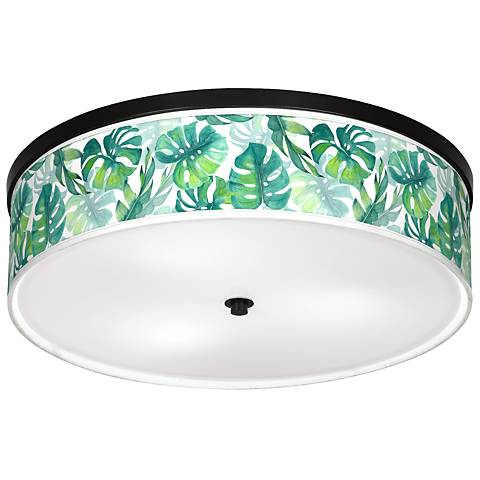 "Tropica Giclee 20 1/4"" Wide Ceiling Light"