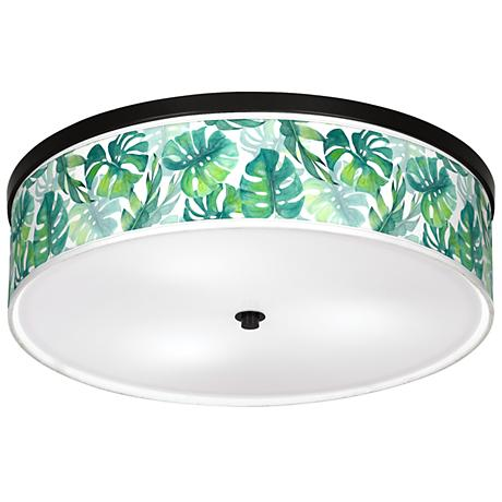 """Tropica Giclee 20 1/4"""" Wide Ceiling Light"""