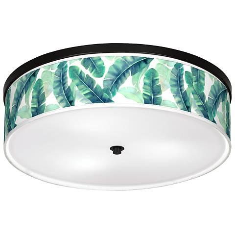 "Guinea Giclee 20 1/4"" Wide Ceiling Light"
