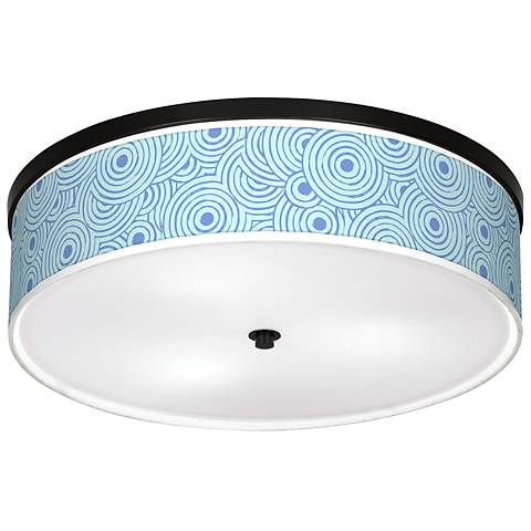 "Circle Daze Giclee 20 1/4"" Wide Ceiling Light"