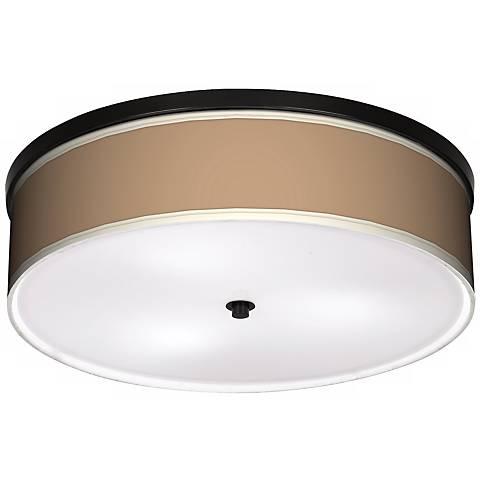 "Mesa Tan 20 1/4"" Wide CFL Bronze Ceiling Light"