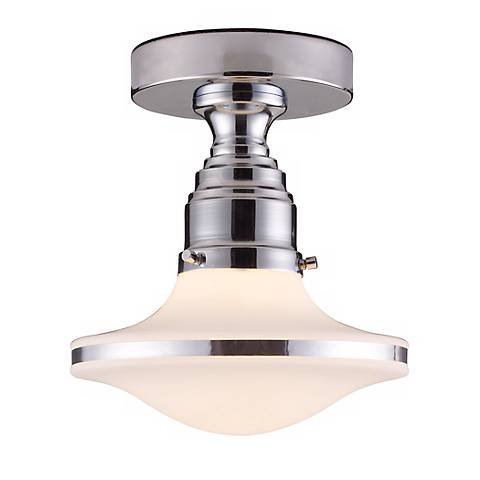 "Retrospectives Collection 8"" Wide Ceiling Light Fixture"