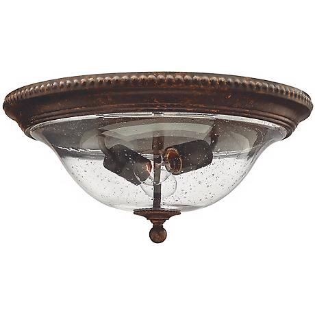"""Rockford Collection Bronze 16 1/4"""" Wide Ceiling Light"""