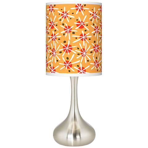Seastar Giclee Droplet Table Lamp