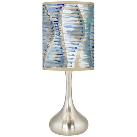 Siren Giclee Droplet Table Lamp