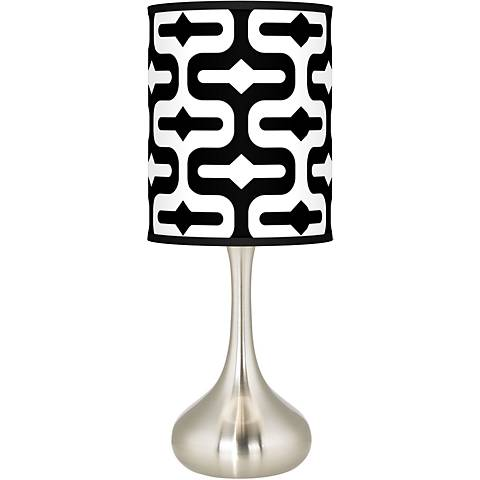 Reflection Giclee Droplet Table Lamp