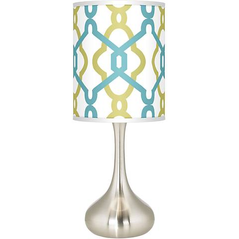 Hyper Links Giclee Droplet Table Lamp