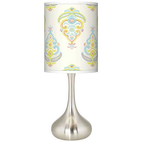 Pastel Parade Giclee Droplet Table Lamp