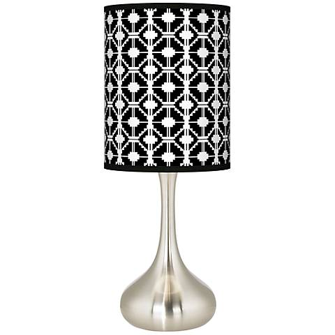 Matrix Giclee Droplet Table Lamp