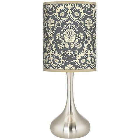Seedling by thomaspaul Damask Droplet Table Lamp