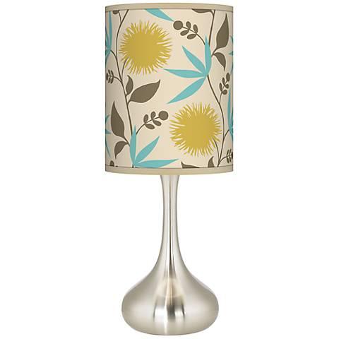 Seedling by thomaspaul Dahlia Droplet Table Lamp
