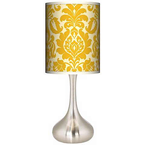 Stacy Garcia Lemongrass Florence Giclee Droplet Table Lamp