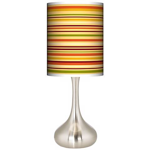 Stacy Garcia Harvest Horizontal Stripe Droplet Table Lamp