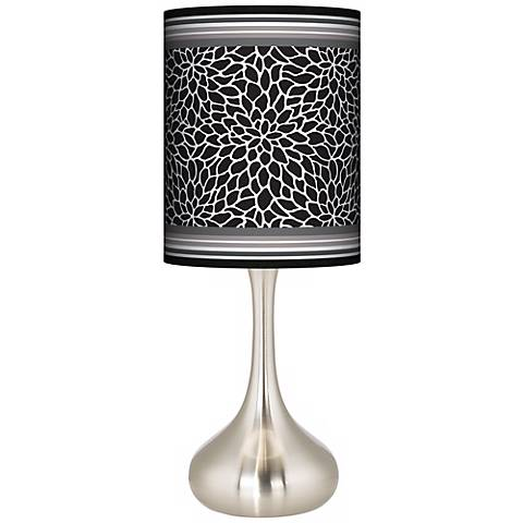 Stacy Garcia Metropolitan Dahlia Giclee Droplet Table Lamp