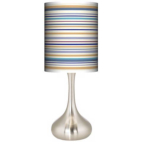 Stacy Garcia Landscape Stripe Giclee Droplet Table Lamp