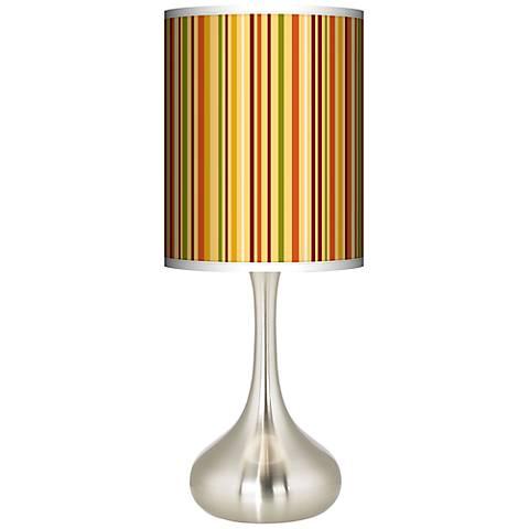 Stacy Garcia Harvest Vertical Stripe Droplet Table Lamp