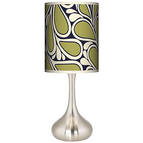 Stacy Garcia Rain Metal Giclee Droplet Table Lamp