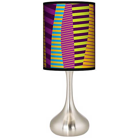 Mambo Giclee Droplet Table Lamp