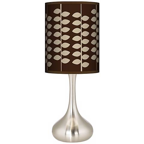 Hi Fi Giclee Droplet Table Lamp