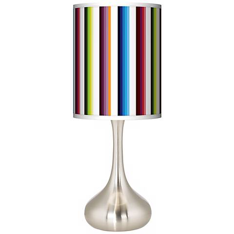 Technocolors Giclee Droplet Table Lamp