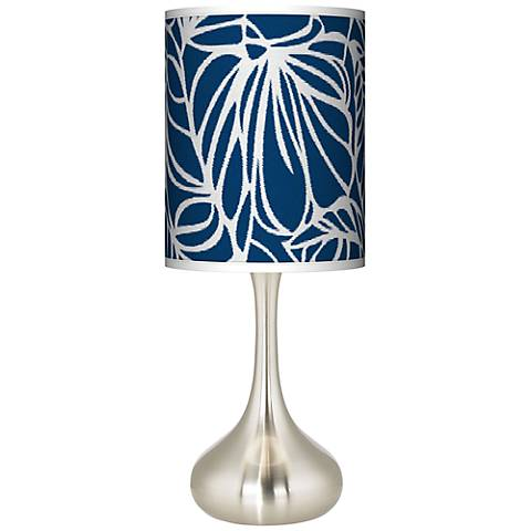 Jungle Rain Giclee Droplet Table Lamp