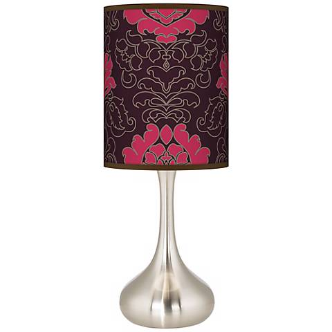 Stacy Garcia Florentia Wild Berry Giclee Droplet Table Lamp