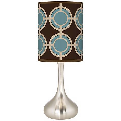 Stacy Garcia Porthole Giclee Droplet Table Lamp