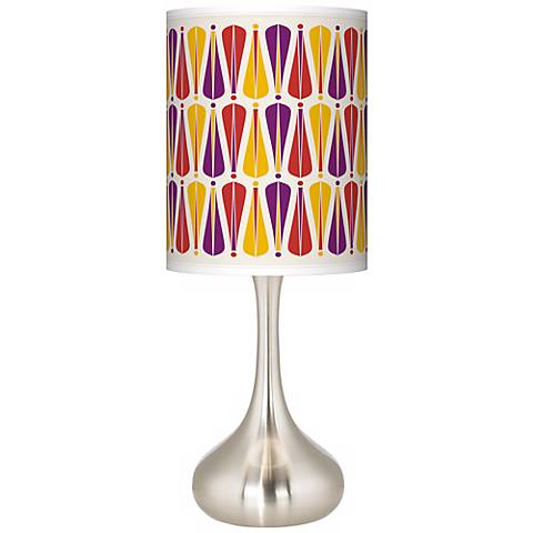 Hinder Giclee Droplet Table Lamp
