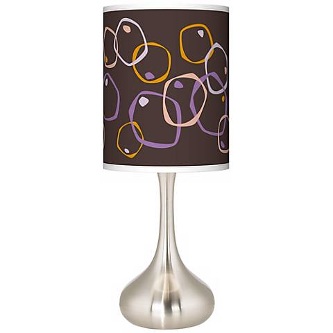 Linger Giclee Droplet Table Lamp