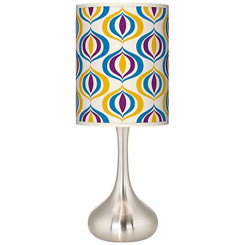 Scatter Giclee Droplet Table Lamp