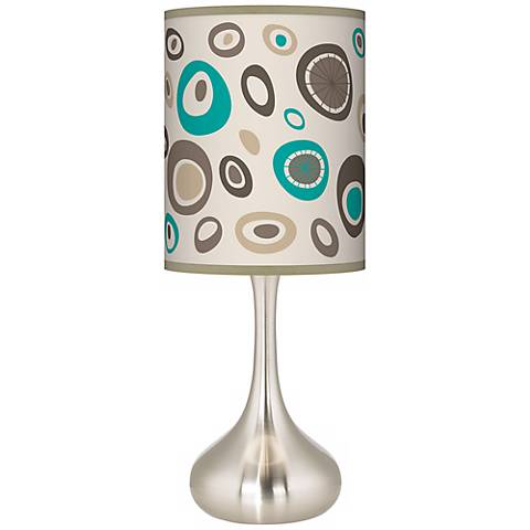 Stammer Giclee Droplet Table Lamp