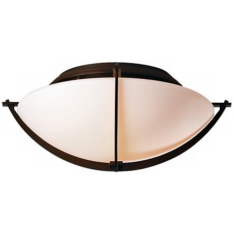 """Compass Collection Mahogany 15 3/4"""" Wide Ceiling Light"""