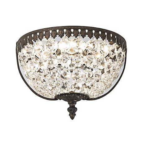 Lamps Plus Crystal Wall Sconce : Schonbek Rialto 9