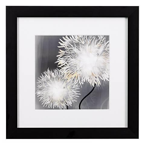 "Dandelions Close Ups A Framed Print 16"" Square Wall Art"