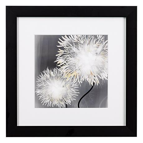 "Dandelions Close Ups A Framed Print 16"" Square Wall Art"