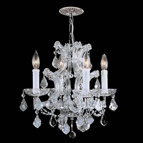 Maria Theresa Collection Chrome 4-Light Chandelier