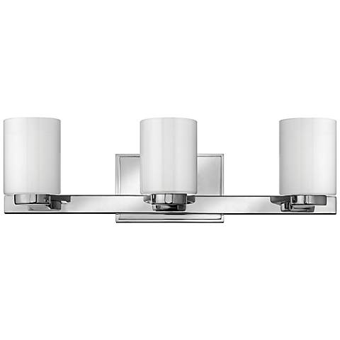 "Hinkley Miley 21 1/2"" Wide Chrome Bathroom Light"