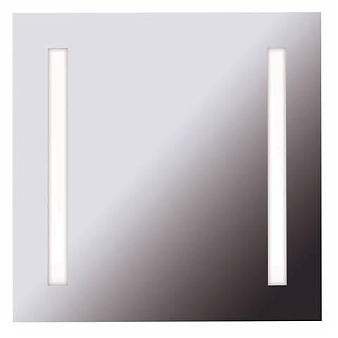 """Destiny 25 3/4"""" Square 2-Light Vanity Mirror"""