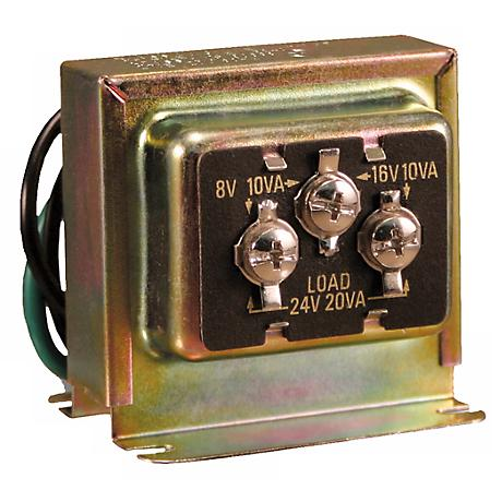 Wired Door Chime 8/16/24 VAC Transformer
