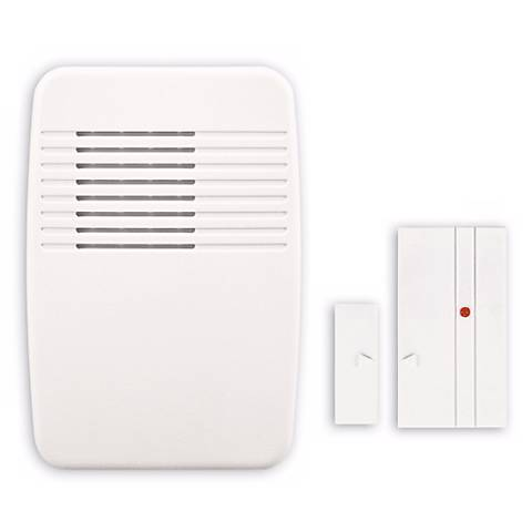 White Entry Alert Plug-In Door Chime