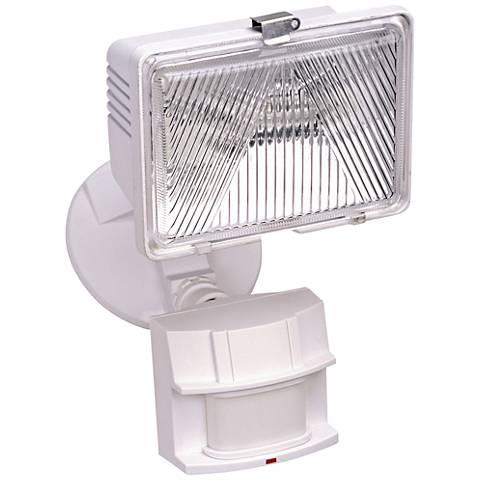"White 11 1/2"" High Dark Sky Motion Sensor Security Light"