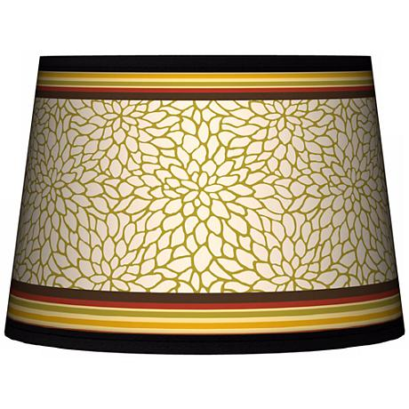 Stacy Garcia Spice Dahlia Tapered Lamp Shade 10x12x8 (Spider)