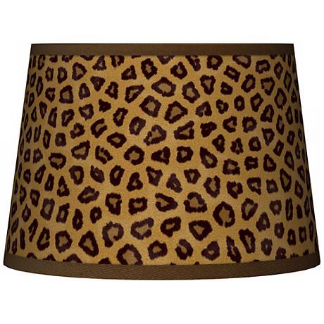 Safari Cheetah Tapered Lamp Shade 10x12x8 (Spider)