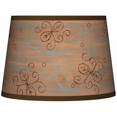 Cedar Lake Tapered Lamp Shade 10x12x8 (Spider)