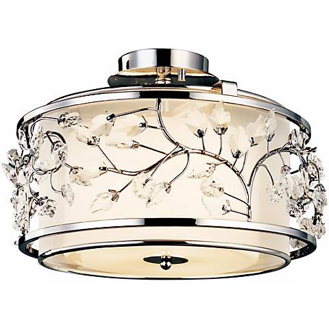 "Jardine Collection 15 1/2"" Wide Ceiling Light Fixture"