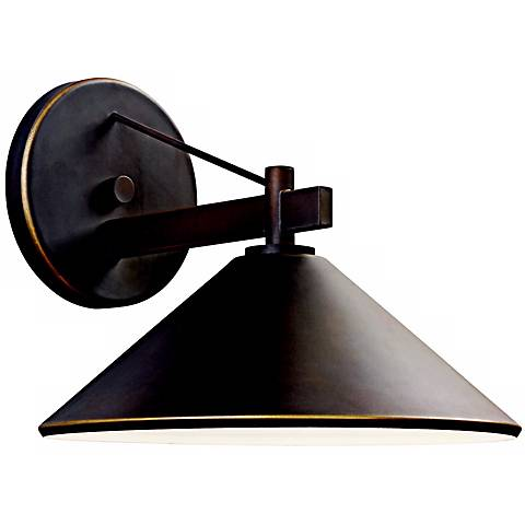 "Ripley Collection 10"" High Dark Sky Outdoor Wall Light"