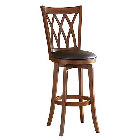 """Hillsdale Mansfield Swiveling 24"""" High Counter Stool"""